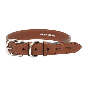 Leather Collar - Tan