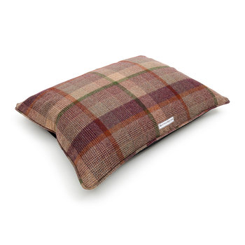 Tweed Pillow Bed - Grape