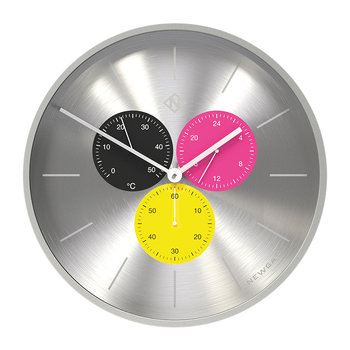 Triptick Clock - Stingray