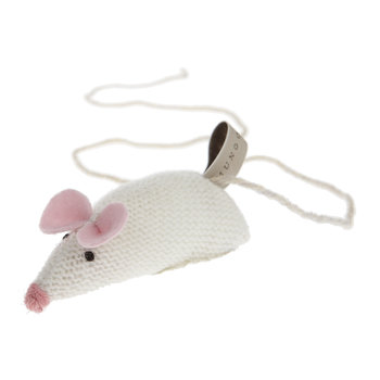 Knitted Mouse Cat Toy