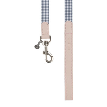 Clara Check Lead - Grey/Bonbon