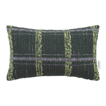 Flair Cushion - 25x40cm - Green Paint Ball