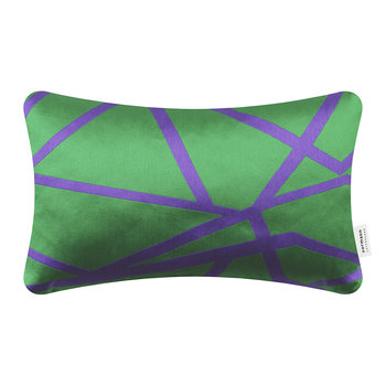 Flair Cushion - 25x40cm - Green Mikado