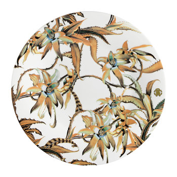 Tropical Flower Charger Plate