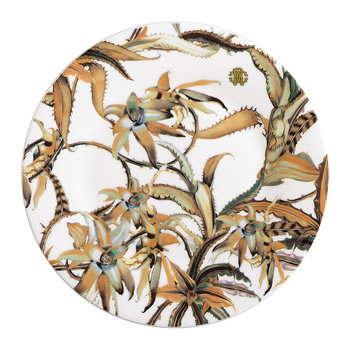 Tropical Flower Dessert Plate - Set of 6