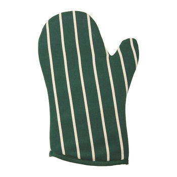 Butchers Stripe Gauntlet - Racing Green