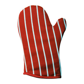Butchers Stripe Gauntlet - Red