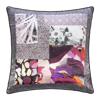 Faraqa Silk Cushion - 60x60cm - Rose