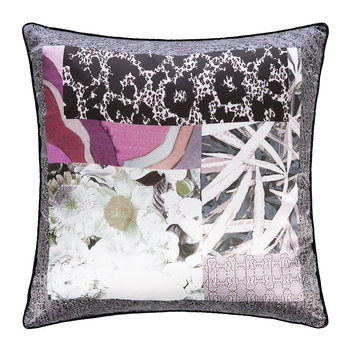 Faraqa Silk Pillow - 40x40cm - Rose