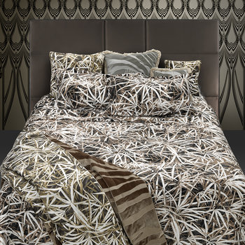 Papyrus Duvet Set - Brown