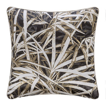 Papyrus Velvet Pillow - 40x40cm - Brown