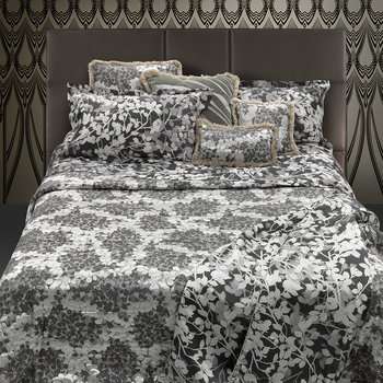 Canopy Duvet Set - Gray