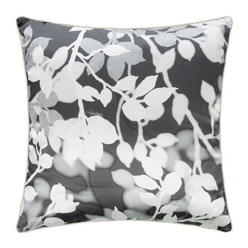 Canopy Silk Cushion - 40x40cm - Grey