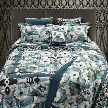 Caleidoflora Bed Set - Blue