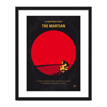 The Martian Minimal Movie Print - 40x50cm