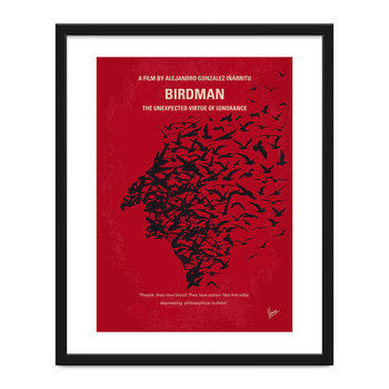 My Birdman Minimal Movie Print - 40x50cm