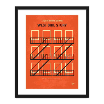 My West Side Story Minimal Print - 40x50cm