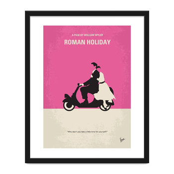 My Roman Holiday Minimal Movie Print - 40x50cm