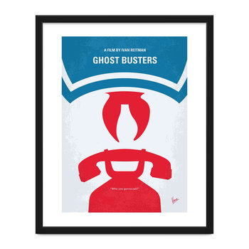 My Ghostbusters Minimal Movie Print - 40x50cm