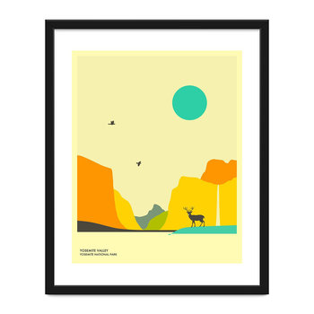 Yosemite National Park Print - 40x50cm