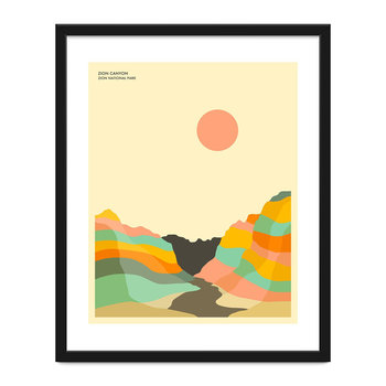 Zion National Park Print - 40x50cm