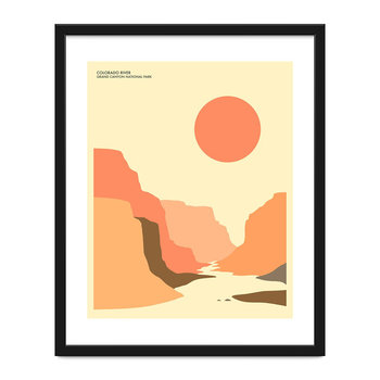 Affiche Parc national du Grand Canyon - 40x50cm