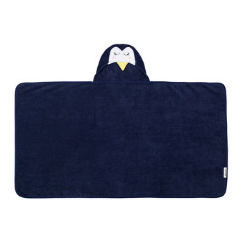 Children's Hooded Bath Towel - Penguin