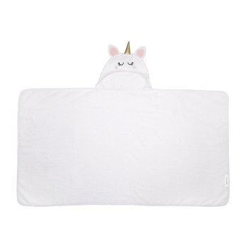 Children's Hooded Bath Towel - Unicorn