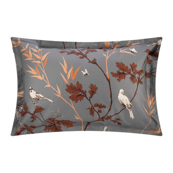Birdfield Pillowcase - Sky Grey - 50x75cm