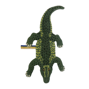 Coolio Crocodile Rug - Green