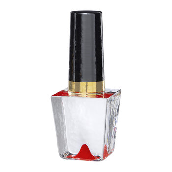 Nail Polish Decorative Ornament - Red