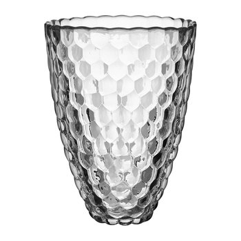 Raspberry Glass Vase - Clear