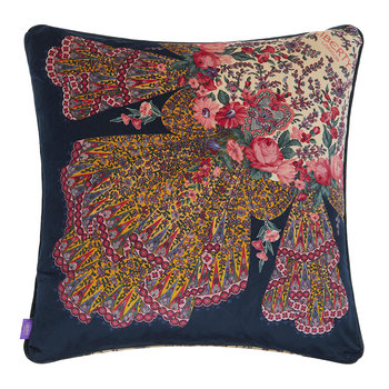 Renee Cushion - 60x60cm - Navy