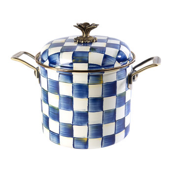 Royal Check Stockpot - 6.6L