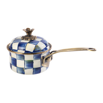 Royal Check Saucepan