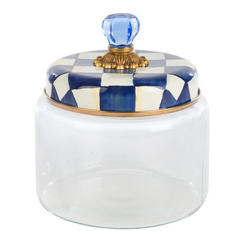 Royal Check Kitchen Canister