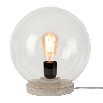 Warsaw Table Lamp - Grey
