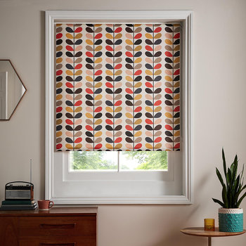 Multi Stem Roller Blinds - Tomato