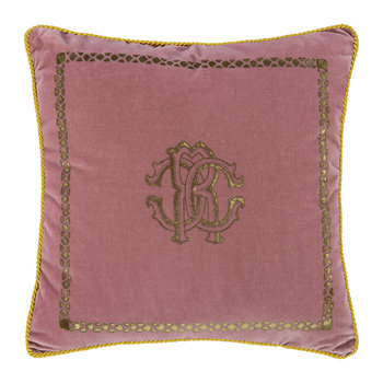 Venezia Reversible Cushion - 40x40cm - Dusty Pink