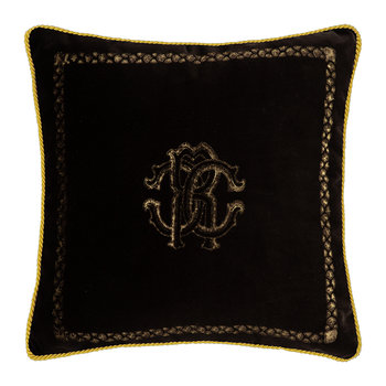 Venezia Reversible Pillow - 40x40cm - Chocolate
