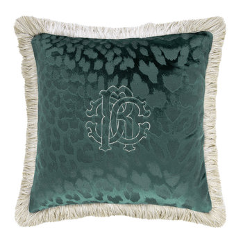 Monogram Cushion - Teal - 40x40cm