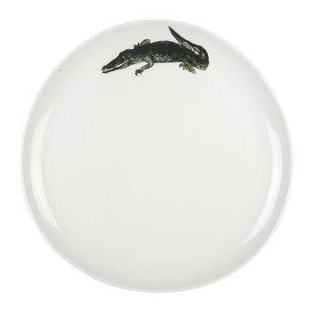Grande Assiette Alligator