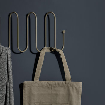 Curl Coat Rack - Steel Grey