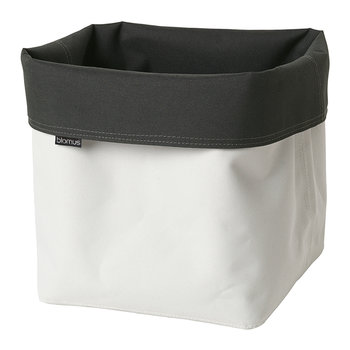 Ara Reversible Storage Basket - Anthracite