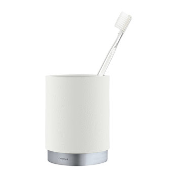 Ara Toothbrush Mug - White