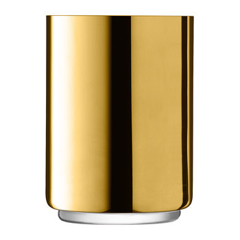 Karat Laterne/Vase - Gold