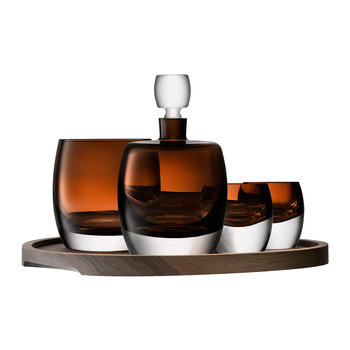 Whiskey Club Connoisseur Set & Serving Tray