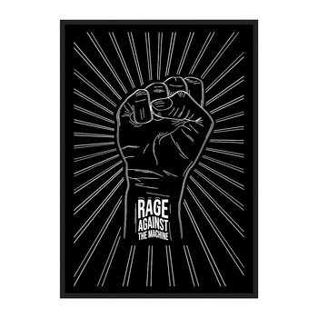 Rage Against The Machine Fist Print