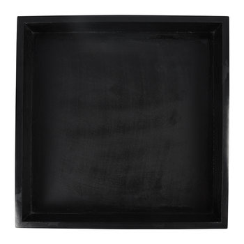 Marblelous Soapstone Square Tray - Black