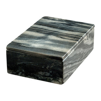 Marble Square Box - Grey